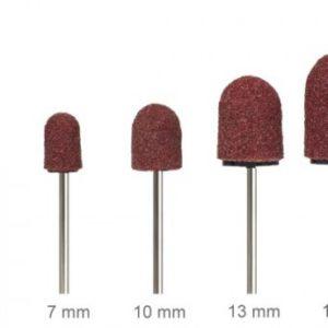 Kapturki ścierne do pedicure 13 mm #80 ( 10 sztuk )