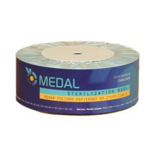 Rękaw do sterylizacji MEDAL 7,5cm x 200m