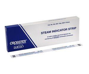 Paski do kontroli sterylizacji - Steam Indicator Strip Kl. 4, 2 x 250 pasków