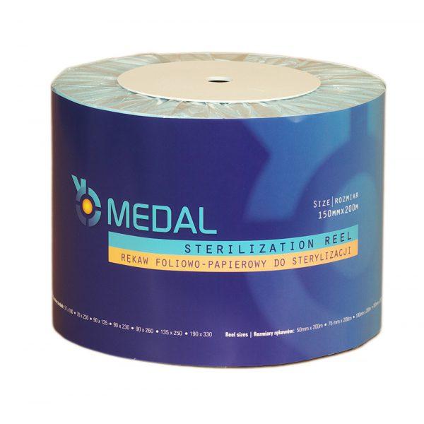 Rękaw do sterylizacji MEDAL 15cm x 200m