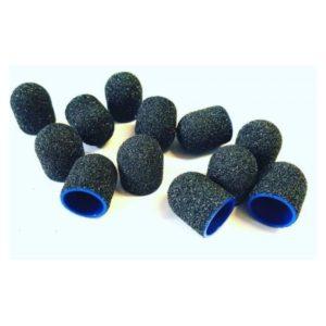 Kapturki ścierne niebieskie 10 mm #80 ( 10 szt )