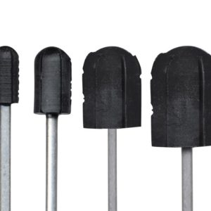 Nośnik / trzpień gumowy na kapturek ścierny 10 mm