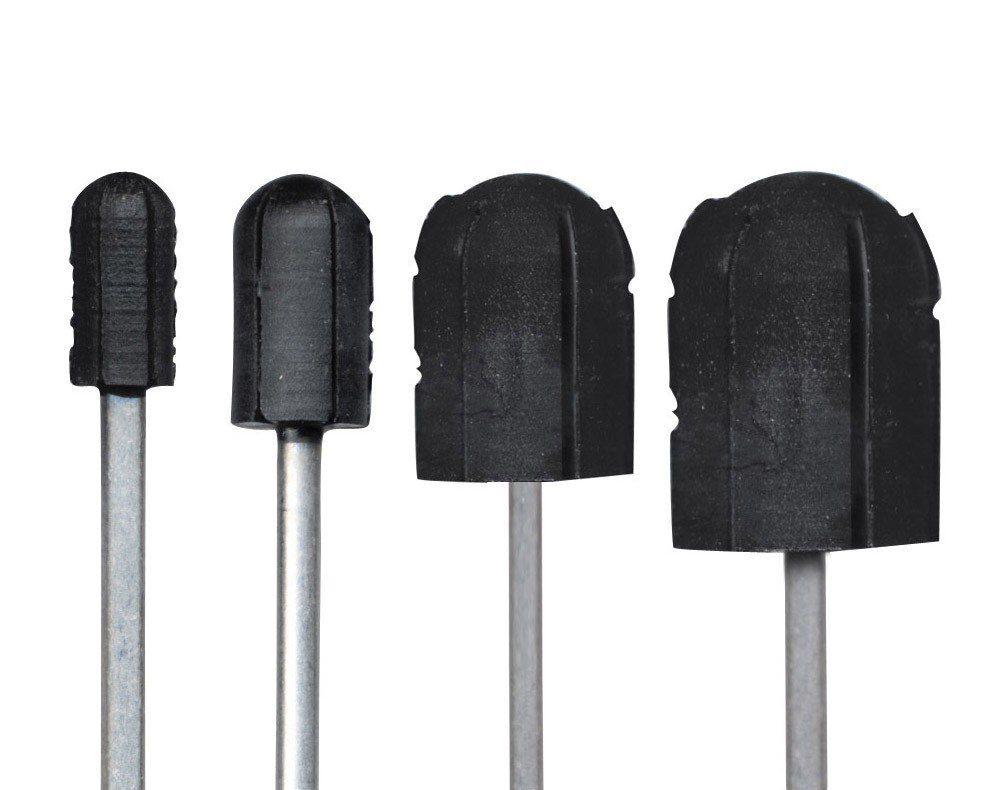 Nośnik / trzpień gumowy na kapturek ścierny 16 mm