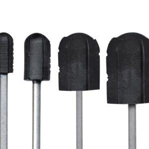 Nośnik / trzpień gumowy na kapturek ścierny 7 mm